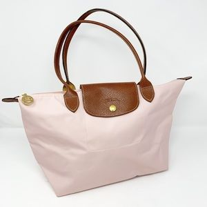 Longchamp Le Pliage Small Tote Long Handles Nylon